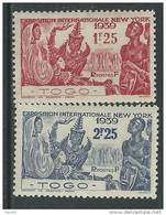 Togo N°  175 / 76 XX  :  Exposition De New York La Paire Sans Charnière, TB