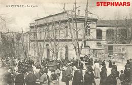 CPA 13 : MARSEILLE - LE LYCÉE (THIERS) - édition LEFEVRE - The Canebière, City Centre