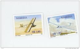 Namibie-1999-Vol à Voile-YT 886/87***MNH