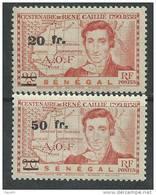 Sénégal  N°  196 / 97  XX Timbres Surchargés  La Série Des 2 Valeurs Sans Charnière (le 197 Gomme Coloniale) Sinon TB