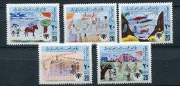 Libye ** N° 835 à 839 - Dessins D'enfants