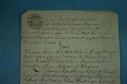 1819 Gonrieux Vente De Marie-Anne Dupont à Thérèse Noiret (12) - Documentos Históricos