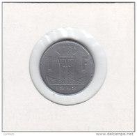 1 FRANC Zinc Léopold III 1942 FR/FL - 1934-1945: Leopold III