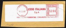 """Italia/Italy/Italie: Ema, Meter, """"ESSO ITALIANA"""""""