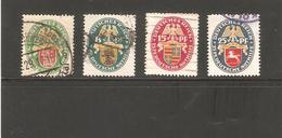 ALLEMAGNE   N°416/419 OBLITERE    DE  1928