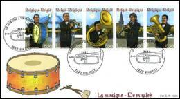 BELG.2005 3459-3463 FDC