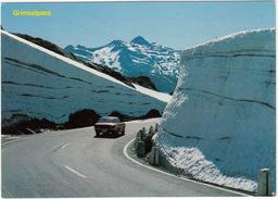 Grimselpass: TOYOTA CELICA 1600 '70  - Schneewände An Der Passstrasse 2165 M. - (CH) - Turismo