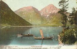 AK Reutte Heiterwangersee Color 1909 #01 - Reutte