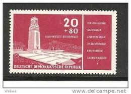 DDRMi.Nr.538**/ Gedenkstätte Buchenwald 1956