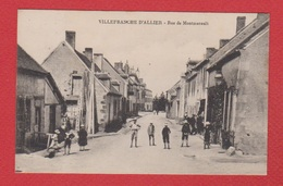 Villefranche D Allier  -- Rue De Montmarrault - France