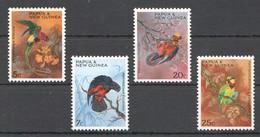 A19 PAPUA & NEW GUINEA FAUNA BIRDS 1SET MNH