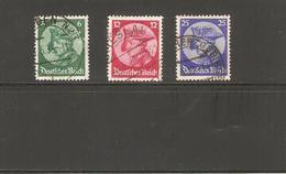 ALLEMAGNE   N°467/69  OBLITERE    DE  1933