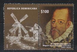 DOMINICAN REP. 2017 - IV Centenario Muerte Miguel De Cervantes - Repubblica Domenicana