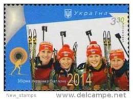 Ukraine 2014 Olympic Games Sochi Biathlon