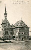 BELGIUM- Exposition Universelle De Gand 1913 - Le Pavilion De La Ville Liege - Exposiciones