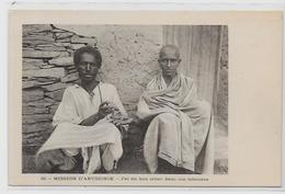 CPA Ethiopie Abyssinie Afrique Noire Abyssinia Types Non Circulé Tabac - Äthiopien