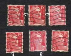 Marianne Gandon (o) 813 (o) Rose, Nuances Diverses, 813a Type II