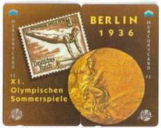 UK - Mercury - Olympics - Berlin 1936 - 49MERTWOA - MEO016-17 - 1.044ex, Mint Puzzle Set Of 2 - Reino Unido
