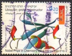 Israel 2011 1 V Used Ubiquitin Protein Distructor Nobel Prize In Chemistry