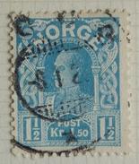 Norvège Y&T N° 63 - 64 Oblitérés . HAAKON Roi De Norvège