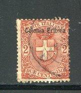 ERYTHREE- Colonie Italienne- Y&T N°13- Oblitéré - Eritrea