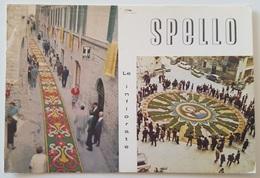 SPELLO (Perugia) - Le Infiorate - Perugia