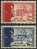 "FR YT 565 & 566 "" Légion Bleu Et Rouge "" 1942 Neuf** - Unused Stamps"