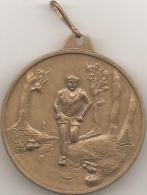 Médaille - Les 10 Miles 1994 Sport Détente Carrefour Labège (avec Bélière) - [course à Pied - Athlétisme] - Frankreich