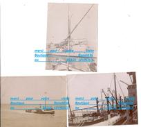 59 62 ETABLES DUNKERQUE MALO LES BAINS PARIS PLAGE CALAIS ?? Port Quai Bateaux Vapeur Grue N°53 Cliché DUBROEUCQ / HULIN - Personnes Identifiées