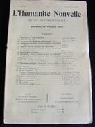 Revue Juillet 1899 L' Humanité Nouvelle N° 25 Revue Internationale Littéraire Politique Tendance Anarchiste -- GAR - Livres, BD, Revues