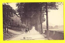 * Rochefort (Namur - Namen - La Wallonie) * (Nels, Série 11, Nr 26) Promenade Du Thiers Des Falizes, Cheval, Quai, Rare - Rochefort