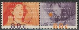 Nederland Netherlands Pays Bas 1993 Mi 1477 /8 ** Radio Orange (Broadcast From London - Jetty Pearl + Jan Kuijt - WW II