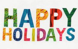 Postcard - Art - Eric Carle - Happy Holidays New - Postcards