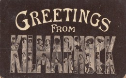 Royaume-Uni - Greetings From Kilmarnock - 1917 - Femmes - Ayrshire