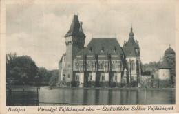 Hongrie - Budapest - Varosliget Vajdahunyad Vára - 1927 - Hungary