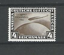 1933 N° 42 C GRAF ZEPPELIN CHICAGO 1933 NEUF** GOMME REIMPRESSION PRIVEE - Airmail