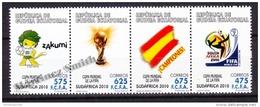 Equatorial Guinea - Guinée Équatoriale 2010 Edifil 438- 441, Fifa World Cup South Africa - MNH - Guinea Ecuatorial