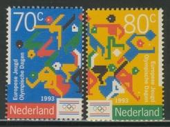 Nederland Netherlands Pays Bas 1993 Mi 1479 /0 ** Sport Pictograms - 2nd Eur. Youth Olympic Days / Jugend-Sportspiele