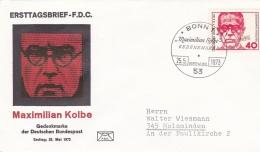 Germany FDC 1973 Maxmilian Kolbe (T8A16) - FDC: Enveloppes