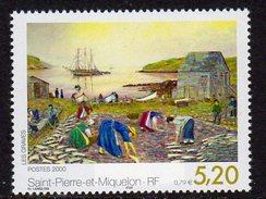 St Pierre & Miquelon SPM 2000 Art 'Les Graves', MNH (A) - Unused Stamps