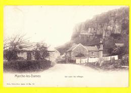 * Marche Les Dames (Namur - La Wallonie) * (Nels, Série 9, Nr 70) Un Coin Du Village, Rochers, TOP, Unique, Rare