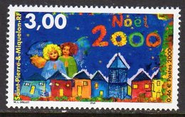 St Pierre & Miquelon SPM Christmas, MNH (A) - Unused Stamps