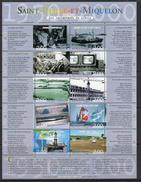 St Pierre & Miquelon SPM Millenium 2f. Value Sheetlet Of 10, MNH (A) - St.Pierre & Miquelon
