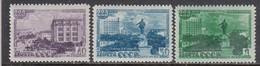 USSR 1948 - 225th Anniv. Of Sverdlovsk, Mi-Nr. 1298/300A, MNH**