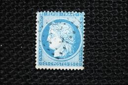 Ceres N°60  Planchage Varieté Point Bleu Sur 25c