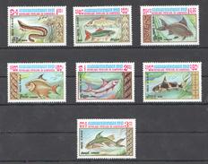 A41 1983 DU KAMPUCHEA FISH & MARINE LIFE 1SET MNH