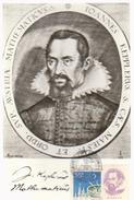 MAXI CARD FAMOUS PEOPLE -  JOHANNES  KEPLER German Astronomer Considered The Founder Of Modern Astronomy
