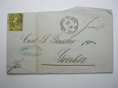 1859 , Leipzig , Brief