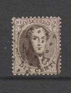 COB 14A Oblitéré Pt 141 Gand Catalogue COBA 2016 +1 - 1863-1864 Medallones (13/16)
