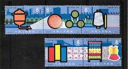 CHINE CHINA  CINA  N° 2157 à 2161 **Y Et T - Industrie Chimique Textile .